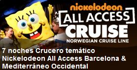 Cruceros Tematicos Nickelodeon 2011