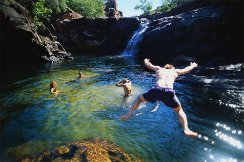 Australia Australians Billabong Kakadu Nationa Park