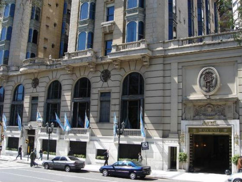 Hotel Marriott Plaza Buenos Aires