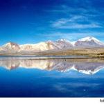 Lago Chungará y el Parque Nacional Lauca en Chile