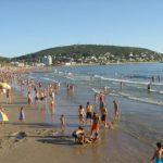 Turismo en las playas de Uruguay