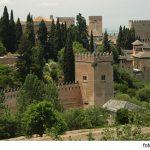 Los jardines y palacios de Alhambra en Granada