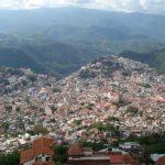 La ciudad de Taxco Guerrero en México
