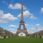 La Torre Eiffel en París, Francia