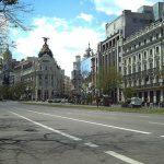 A lo largo de la calle de Alcalá