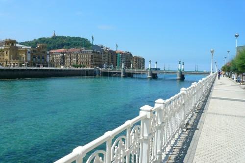 Puente del mar en San Sebastián