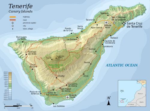 La isla de Tenerife