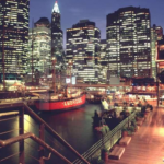 South Street Seaport en New York