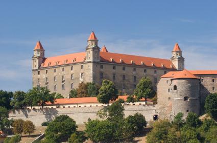castillo de Bratislava Eslovaquia